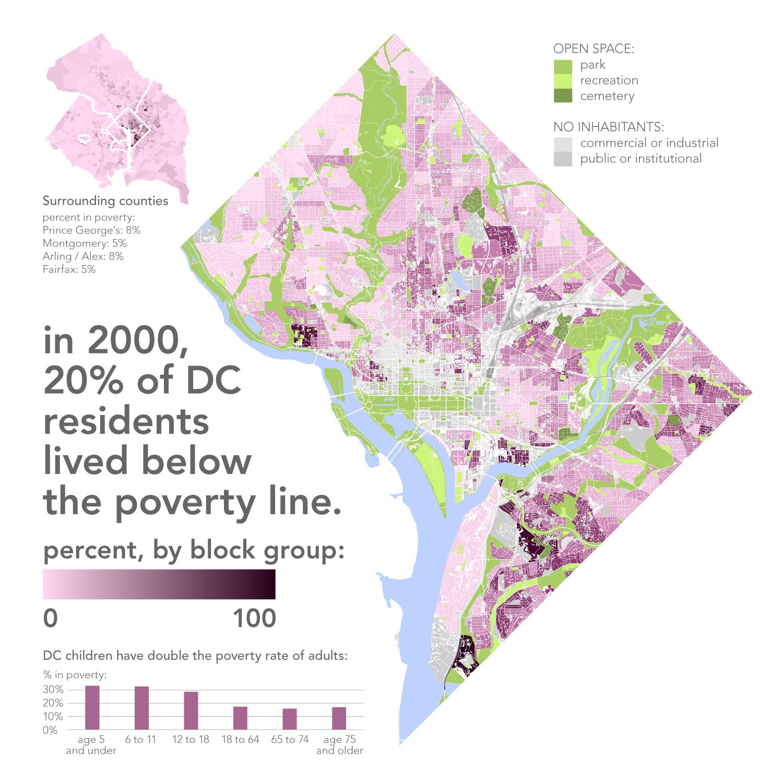 Radicalcartography - Washington dc map by race