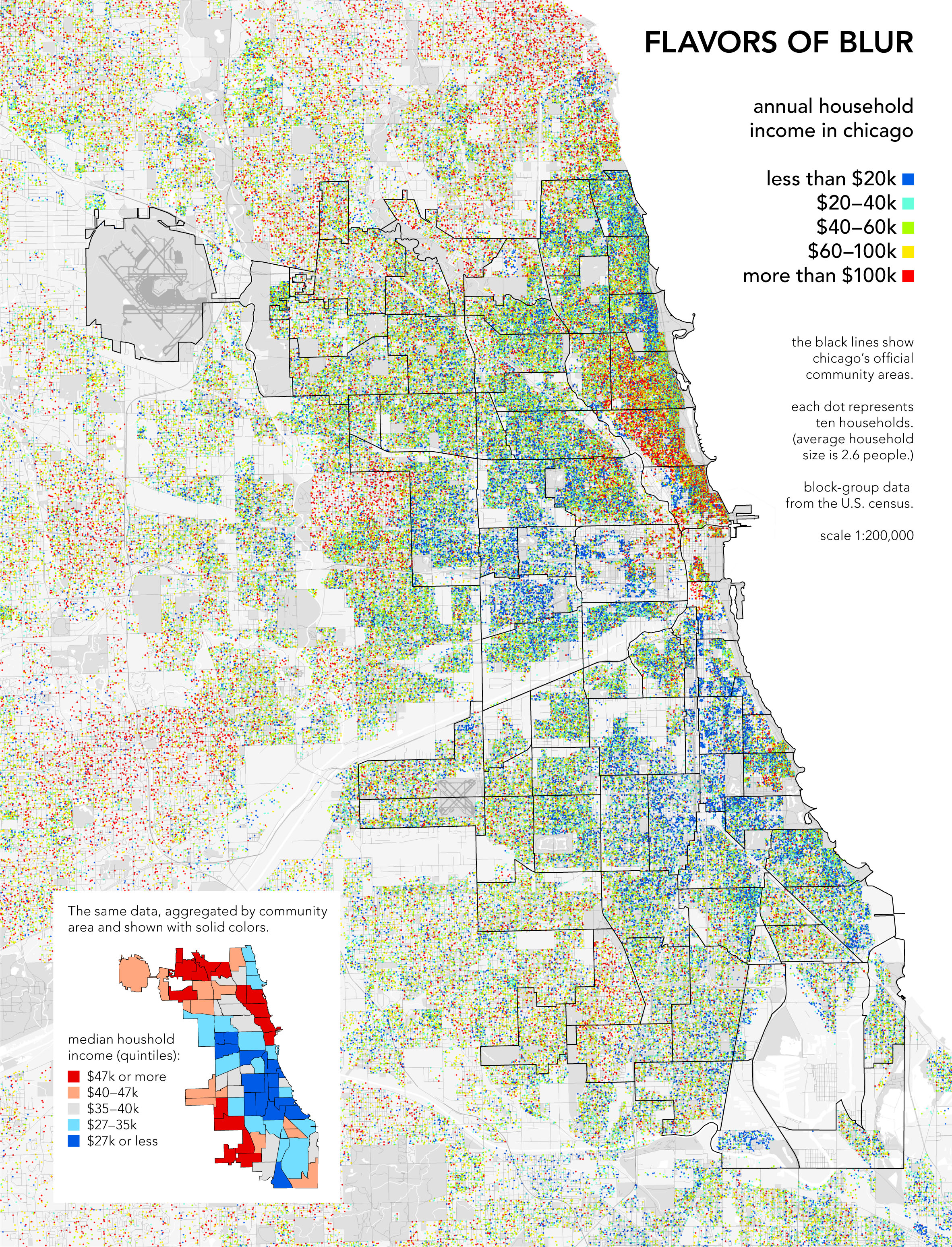 Radicalcartography - America map chicago