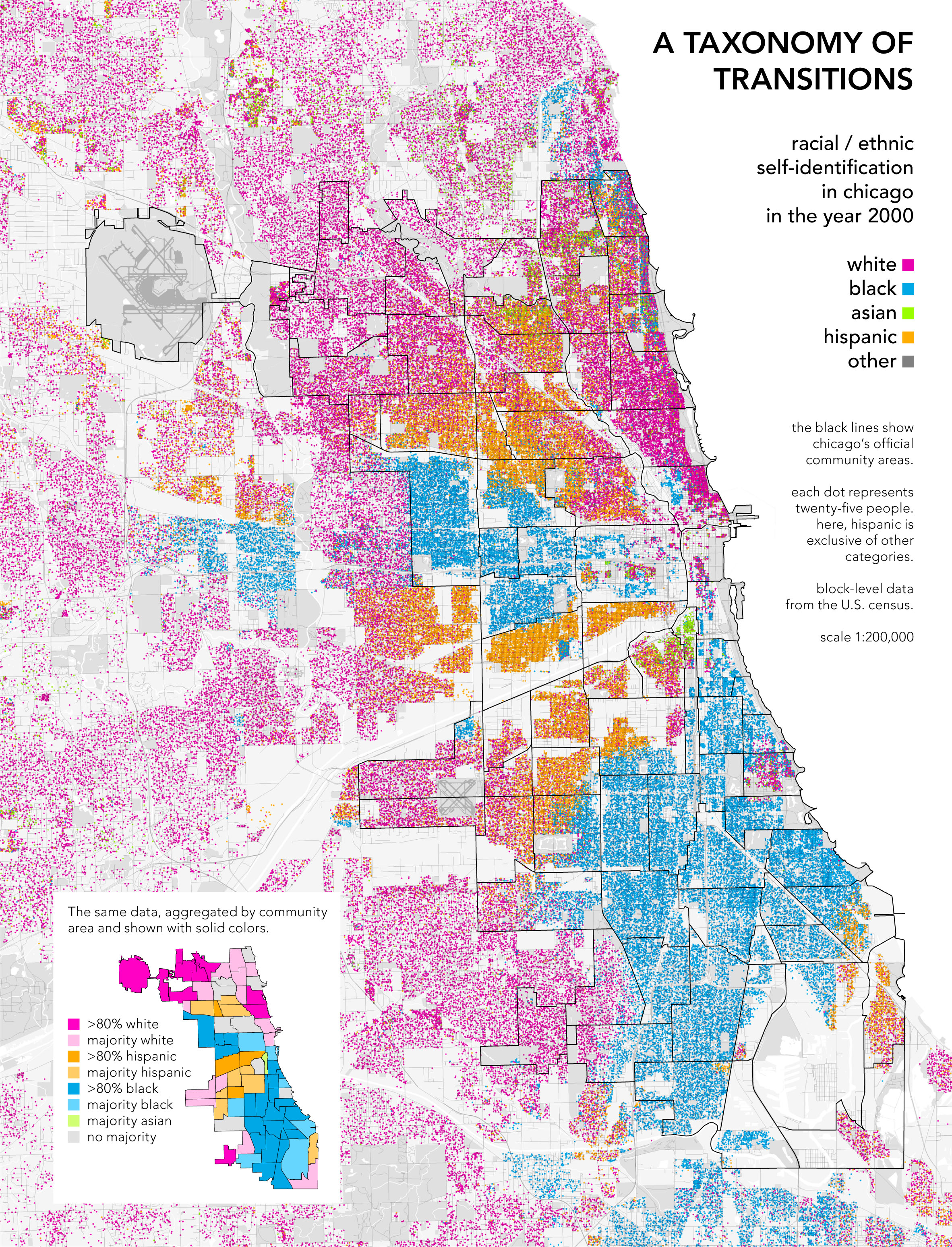 radicalcartography Chicago Us Map on