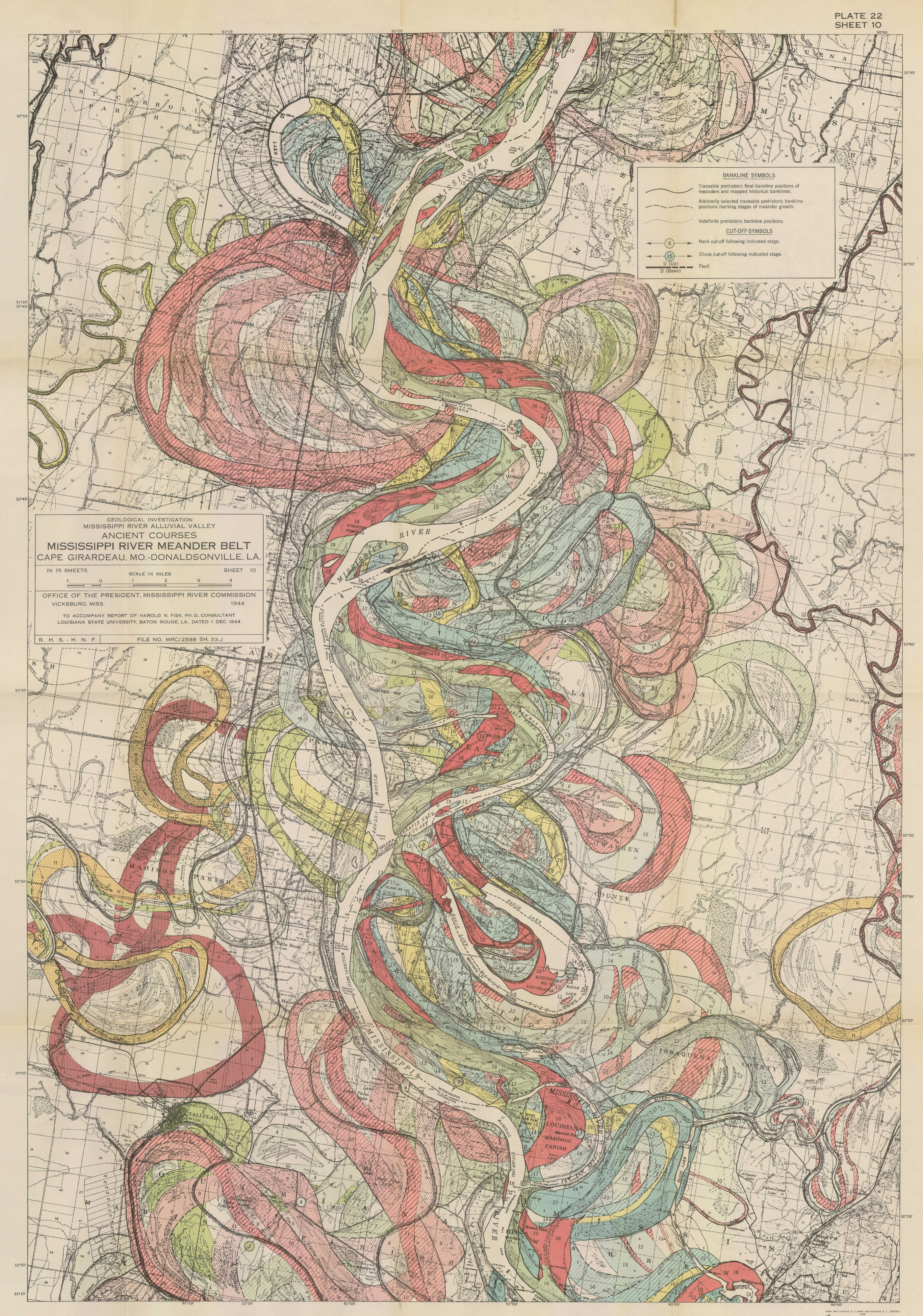 Radicalcartography - Map of the mississippi