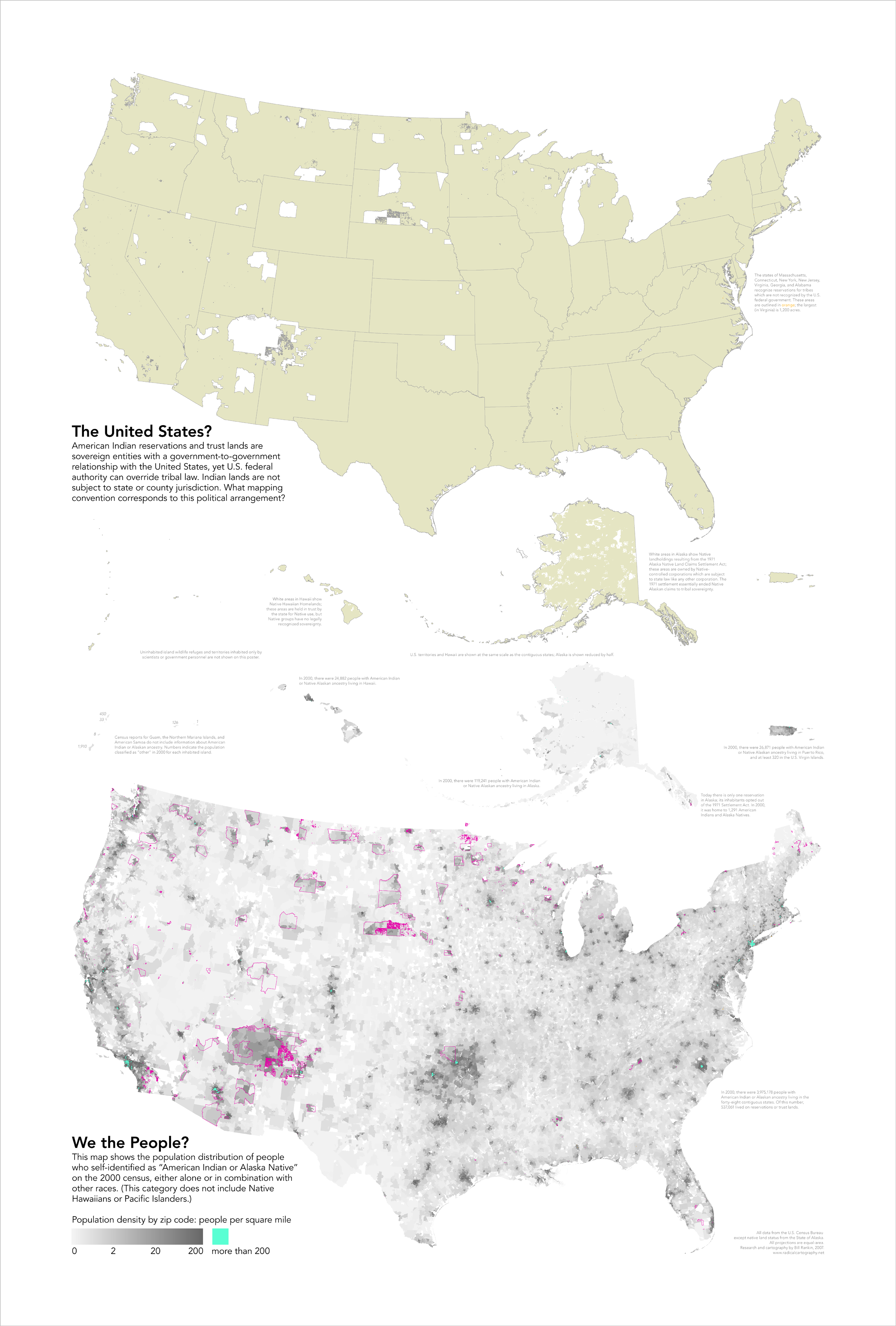 Map Of New York Indian Reservations.Radicalcartography